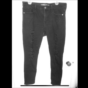 Black EXPRESS 'legging' jeans
